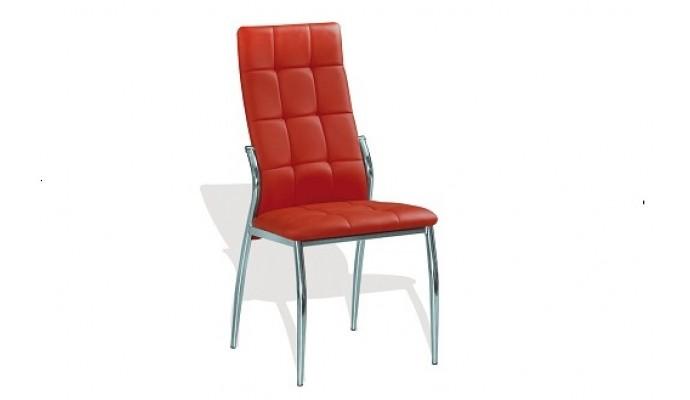 кожаный стул  красный (Interbig Service)