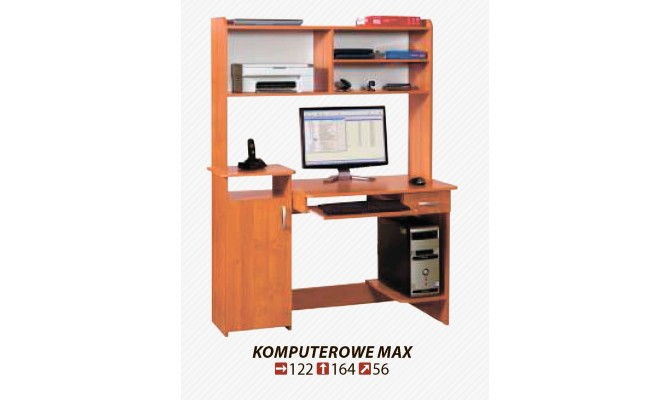 Рабочий уголок KOMPUTEROWE MAX (MEBLOCROSS)