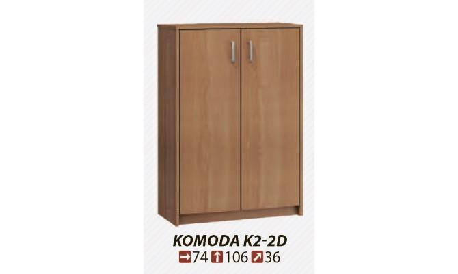 Комод KOMODA K2-3D-2S (MEBLOCROSS)