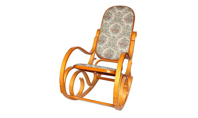 Кресло-качалка 20048 Гобилен (светлое) Diram