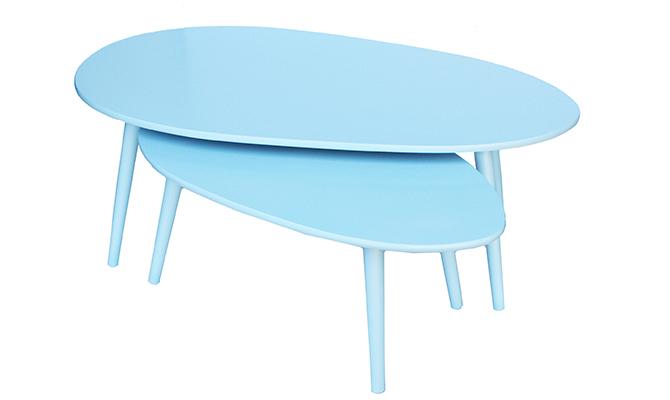 Набор из 2-х столов blue Diram